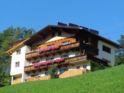 Photo for Cozy apartment with fantastic views of the Zillertal mountains