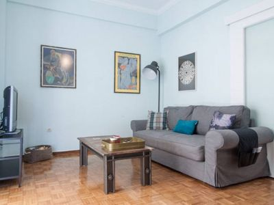 Photo for Fully Renovated 1 bedroom Apt next to Acropolis