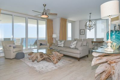 1 Silver Beach Towers East 1506- Living Area