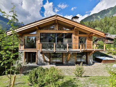 Photo for Black Stone Chalet - luxury, tradition and comfort - Les Bois - Chamonix Mont Blanc