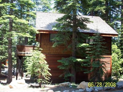 Photo for 'Upper Deck'  Small Lakeview Cabin/Boathouse
