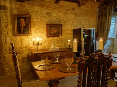 ancient, fully restored, 13th century - homeaway issigeac