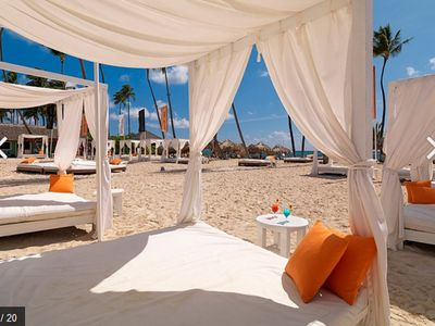 Photo for 2Story Punta Cana Beach VILLA +FREE IFA Resort Beach Lounges Chairs  Get30%off