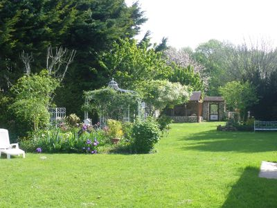 Photo for near Disneyland Paris, single storey rural cottage, private entrance and terrace