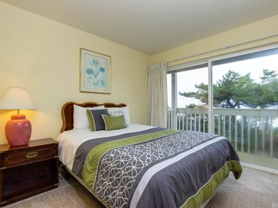 Photo for Dog-friendly, lower-level studio - ocean views and easy beach access await!