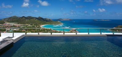 Villa West View 1 Bedroom -  Ocean View - Located in  Magnificent Saint Jean with Private Pool