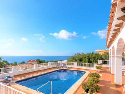 Photo for Villa Anita- seaview, private Pool, free AC&WiFi