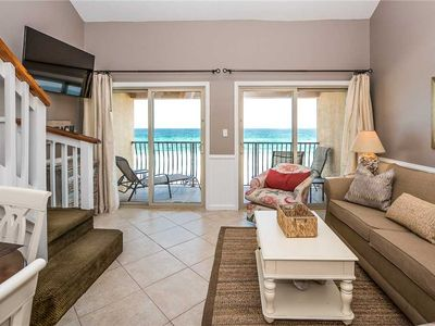 Photo for 39- Recharge your happiness in this beautiful BEACH FRONT Condo! Coral Reef Club