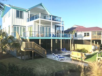 Photo for FRONT BEACH w/ POOL! 2 Levels of Decks w/ AMAZING Views!