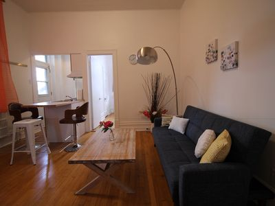 Fancy One bedroom Apartment close to General Hospital/ Downtown and metro