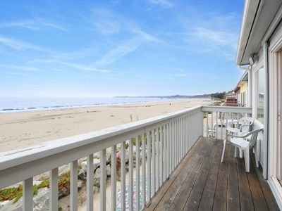 Photo for Oceanfront home w/ balcony & access to Rio Del Mar State Beach