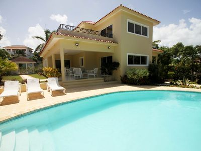 Photo for 3BD villa with pool, gated residence, minigolf/billiard/foosball/shuttle van