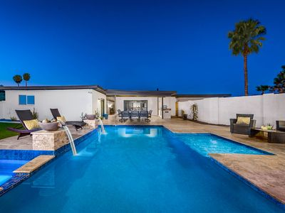 Photo for Luxurious home w/ private pool, hot tub, & spectacular at-home entertainment!