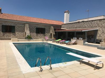Photo for Renovated Farmhouse with Air Conditioning, Pool & Terrace; Parking Available