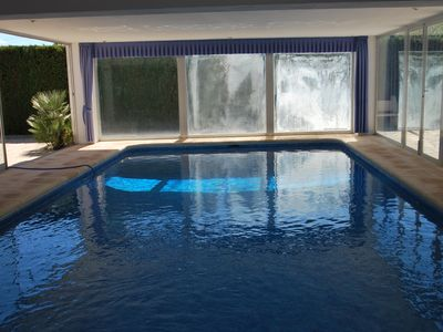 Photo for Centrally located spacious property with a private pool - indoor pool