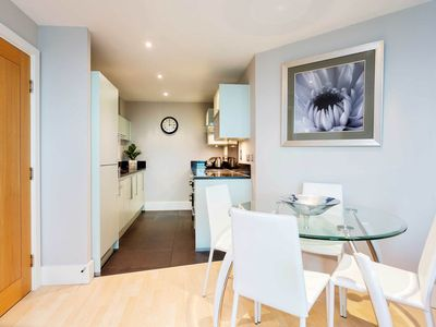 Photo for Attractive, Contemporary 2BR Apartment, Vauxhall, with Private Balcony, by Veeve