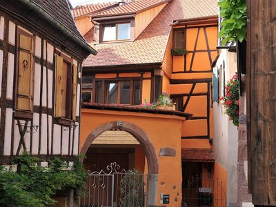 Photo for Ribeauvillé, charming newly renovated house on the Route des Vins d'Alsace