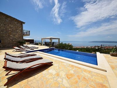 Photo for Holiday house Makarska for 1 - 8 persons with 3 bedrooms - Holiday home