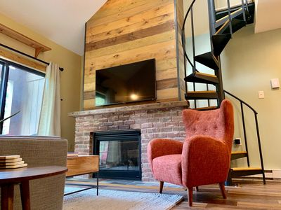 Photo for Fully renovated 2 Bed 1 Bath ski-in/ski-out condo at Holiday Valley