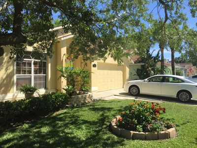 Photo for HOME  w/BEAUTIFUL Private. Apt.- UCF Area -2 bd/1 bath, KING bd in Master,  POOL