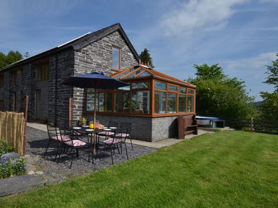 Photo for Ty Gwair is a former barn, recently converted into a delightful, bright and airy, holiday cottage wi