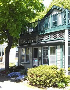 Photo for In Town Air Conditioned Home Minutes From Shore, Heart Of Bar Harbor And Acadia