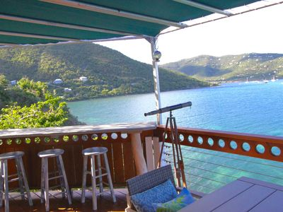Photo for Waterfront Villa in Coral Bay with Views from Every Room