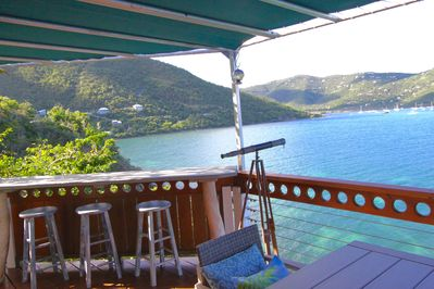 Breathtaking water views from our deck.