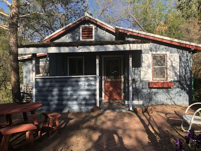 Photo for PRICE REDUCED ON THIS HISTORIC REGISTERED CABIN IN SECLUDED WOODED AREA