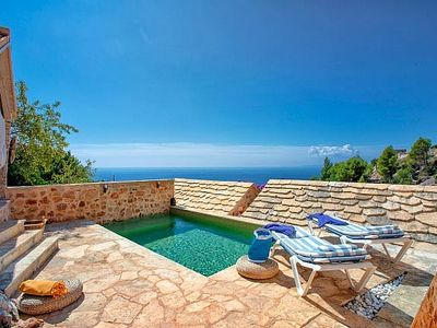 Photo for Charming/Luxury Dalmatian Stone House In Idylic Setting/Private Pool/View