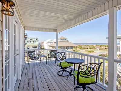 Photo for Beautifully Decorated North Tybee Home with Bay Views, Pet Friendly, Quiet Neighborhood