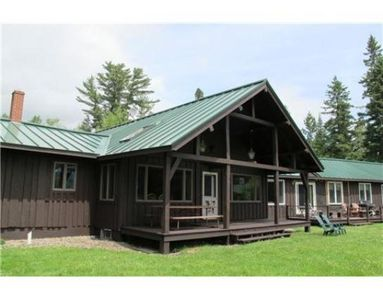 Photo for Spacious cottage in the Saddleback Lake Lodge cottage community.