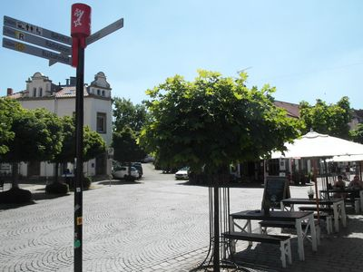 Photo for central apartment in the old town with an outdoor terrace