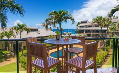 Photo for Makahuena 2202 March is full, April is filling. Large Ocean view luxury condo in lovely Poipu. Pool!