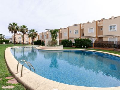 Photo for VILLAS DEL MONTGÓ - Fantastic apartment with shared pool and only 2 km from the sea in Denia.