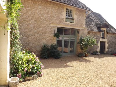 Photo for Beautiful 3 Bedroom Stone Barn Conversion With Pool