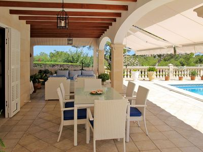 Photo for Beautiful apartment for 6 guests with A/C, private pool, WIFI, TV and parking