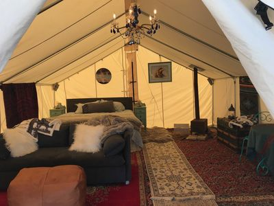 Photo for Rustic Luxury Glamping- New listing now $290 from $350