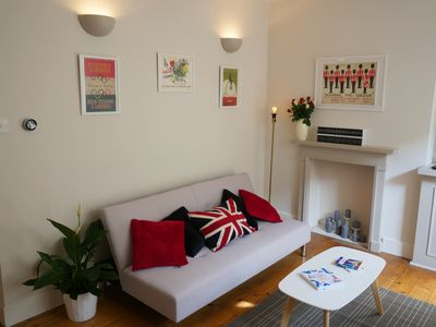 Photo for Classic London 2 bedroom flat with private garden