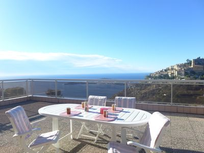 Photo for 3 bedroom Apartment, sleeps 5 with Pool, Air Con, FREE WiFi and Walk to Shops