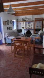 Photo for Rustic Home in Idyllic Village with Mountain Views & Wi-Fi; Pets Allowed