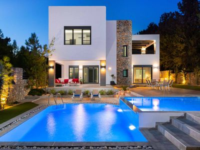 Photo for Villa Summer Light-A beautiful modern villa just completed in the Summer of 2018