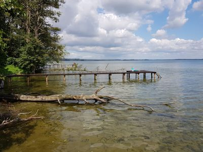 """Photo for Holiday house """"Seewind"""" directly on Lake Schweriner See Outer lake 4-6 pers."""
