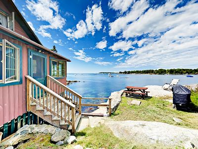 Location - Welcome to East Boothbay! Your seaside log cabin is professionally managed by TurnKey Vacation Rentals.