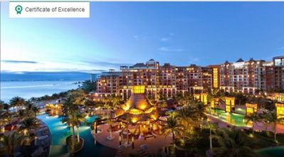 Trip Advisor awards the Certificate of Excellence to the resort for several yrs