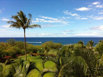Your Lanai - Balcony View.  You are looking West from Maui.