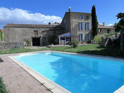 Photo for Beautiful House With Swimming-pool, Vineyards Views, Close to Canal Du Midi