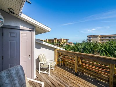 Photo for Townhome near the ocean w/ a full kitchen, private balconies, & courtyard