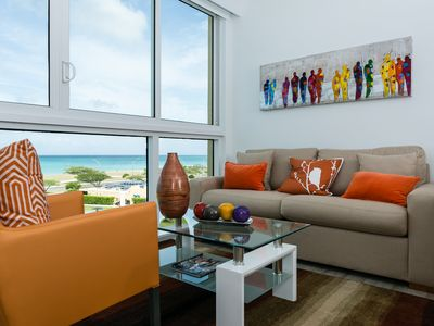 Family Friendly Beach Front Apartment. Ideal Vacation in the Caribbean