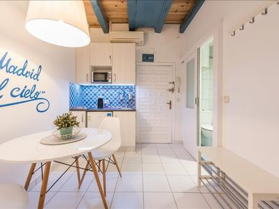 Photo for Cielo Almudena apartment in La Latina with WiFi & integrated air conditioning (hot / cold).